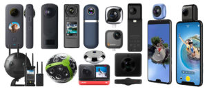 diverse Panorama-Cameras
